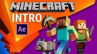 😍Урок +проект: Интро в стиле Minecraft или 3D для бедных в After Effects - AEplug 234