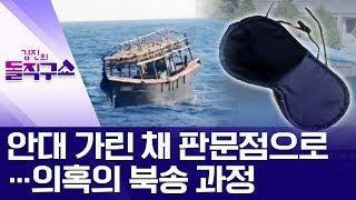 안대 가린 채 판문점으로…의혹의 북송 과정 | 김진의 돌직구쇼