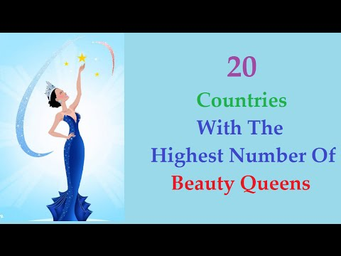 Countries with The Highest Number Of Beauty Queens (2015)