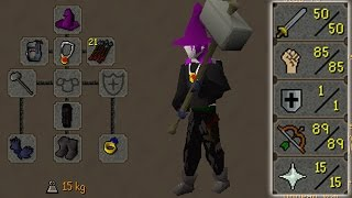 Loot From 3 Hours of Low Level GMaul Pure Pking