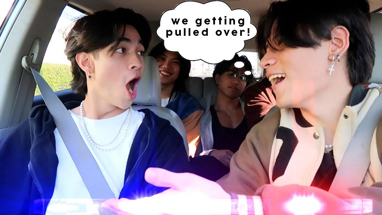 Driving with Sebastian Moy & Friends (bad idea)