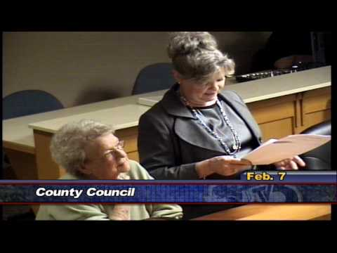 County Council, February 7th 2017