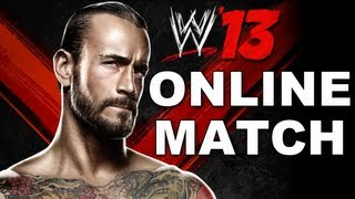WWE 13: First Online Match