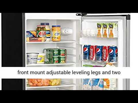 Two Door Apartment Size Refrigerator Danby DPF073C1BSLDD Designer 7.3 cu.ft Steel