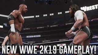 NEW WWE 2k19 Gameplay! Daniel Bryan Showcase Mode, Bryan vs Cena, Bryan vs Orton & MORE! WWE 2k19