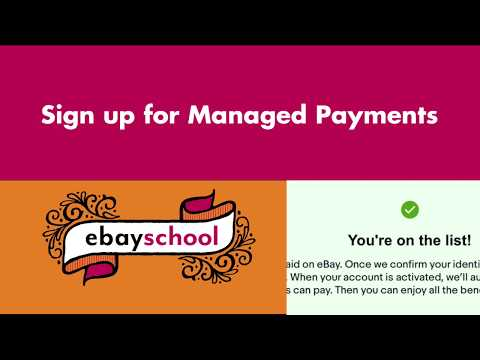 How To Sign Up For Managed Payments On Ebay