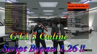 GTA 5 Online Script Bypass 1.26 !! +DOWNLOAD!