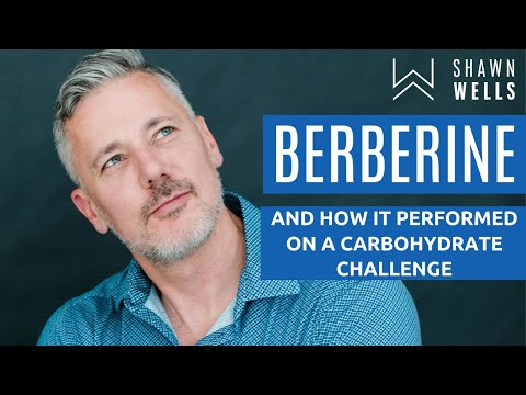 Berberine supplement and a carbohydrate challenge