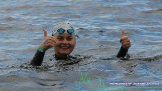 На Копанском озере в Кингисеппском районе прошёл международный заплыв (фото и видео)