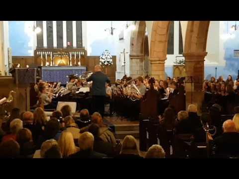 Band pres Sir Ddinbych yn perfformio / Denbighshire Co-operative Brass Band play