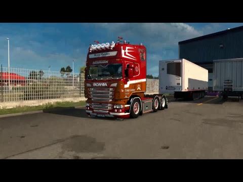 Euro Truck Simulator 2 ลองภาพ HD