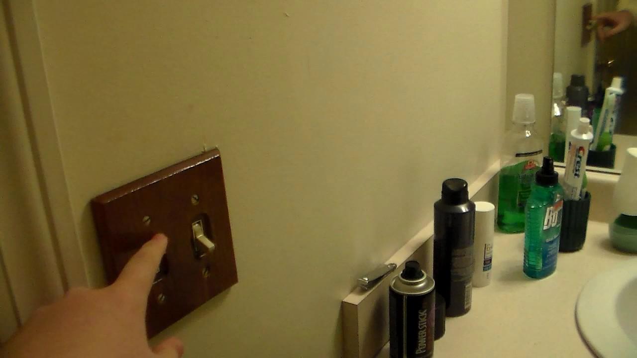 2006 broan exhaust fan in my apartment bathroom youtube - Bathroom exhaust fan stopped working ...