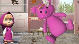 Маша И Медведь | Игры Для Детей и Мультики | Мир Детских Игр | Masha House Cleaning