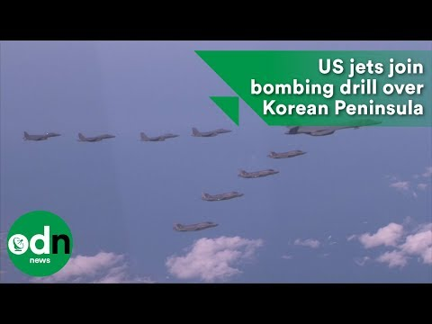 US jets join bombing drill over Korean Peninsula