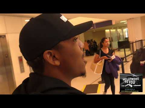 Christopher Massey talks about being ok with Shar Jackson again while departing at LAX Airpot in Los
