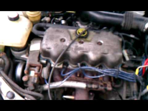 00ford Focus Sohc Idle Problem With Code P0171 Youtube