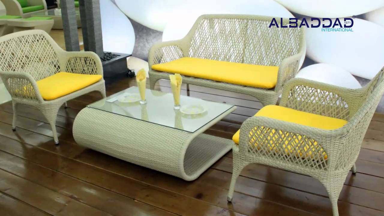 sharjah showroom garden furniture outdoor furniture albaddad youtube - Garden Furniture Dubai