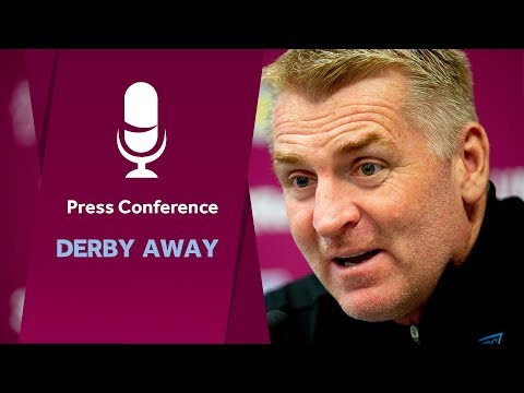 Press conference: Derby County away
