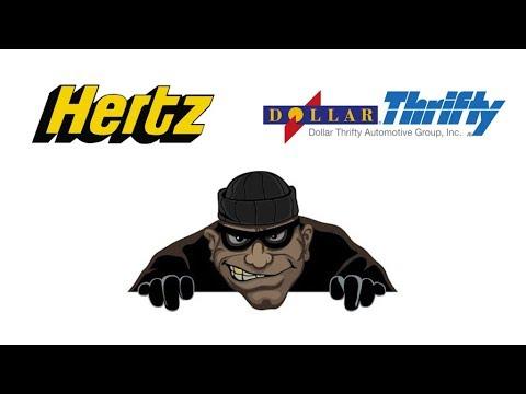 Hertz/Dollar/Thrifty car rental companies - very bad reputation!