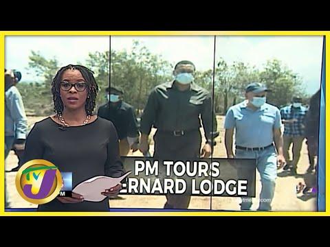 PM Tours Bernard Lodge | TVJ News - June 25 2021