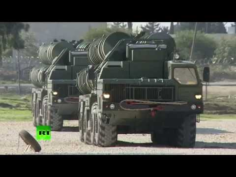 Russian S-400 defense missile system deployed in Syria