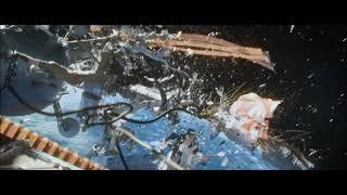 Gravity parachute crisis scene
