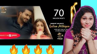 Reaction video on GALLAN MITHIYAN || MANKIRT AULAKH || PARMISH VERMA || CROWN RECORDS Crown Records