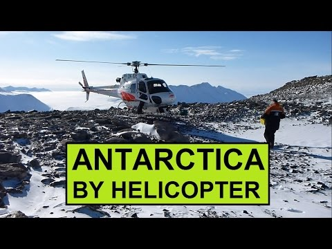 McMurdo Dry Valleys of Antarctica by Helicopter [HD]