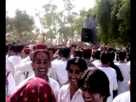 culture day of sindh university IMCS 2k6 betch(the rocking betch)