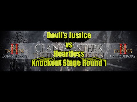 Amazing Knockout Stage Series from Clan Masters, Devil's Justice vs Heartless Round 1