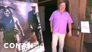 """Andy Richter Hits """"The Lone Ranger"""" New Mexico Junket"""