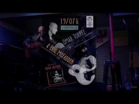 """Omar Torrez, Eric McFadden, Queen Delphine - концерт в клубе """"Китайский летчик Джао Да"""" 19.07.2017"""
