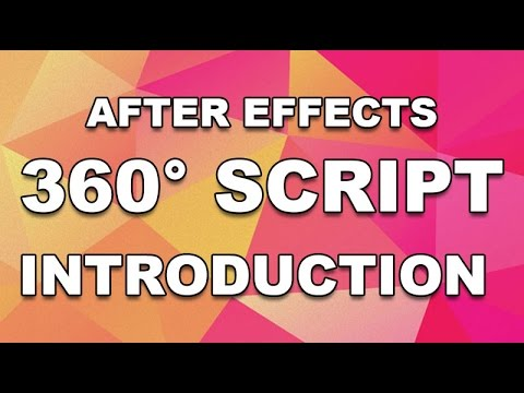 After Effects ey360 Script - FREE