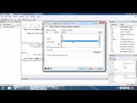 Logistic regression in Stata®, part 1: Binary predictors
