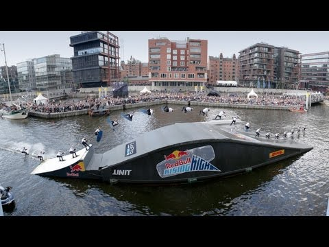 Wakeboarding Cable Contest in Hamburg - Red Bull Rising High 2013