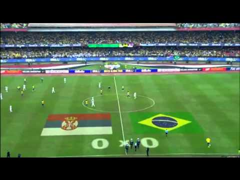 Brazil vs Serbia 1-0 Friendly Match HD GOAL AND HIGHLIGHTS HD 06/06/2014