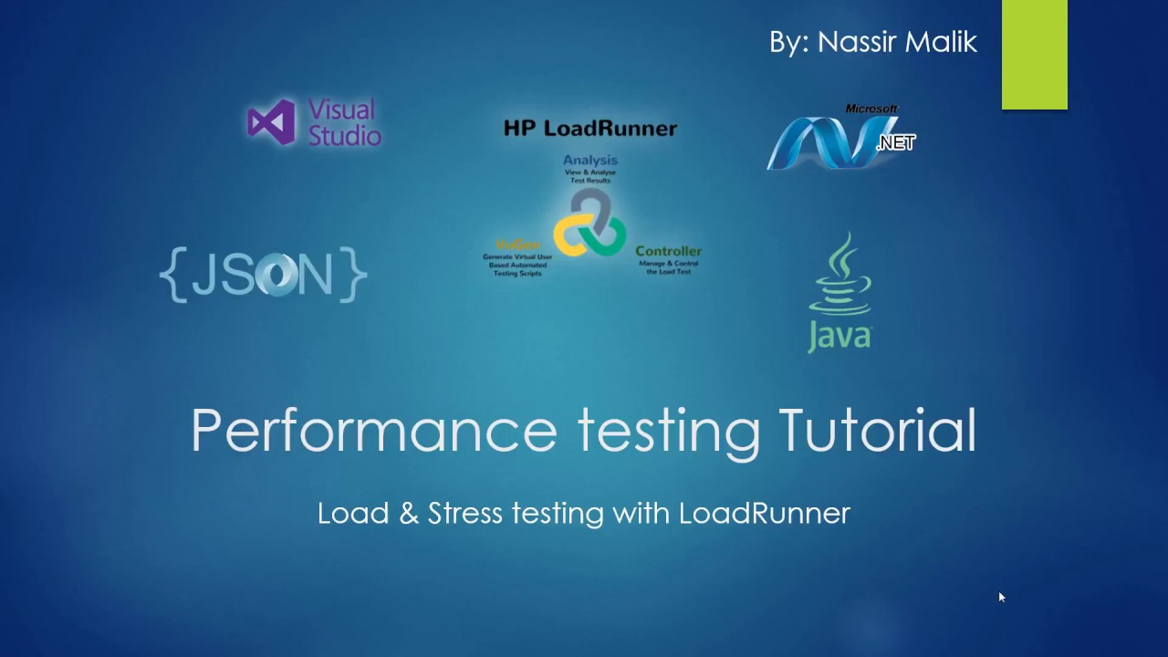Performance Testing with Load Runner Setup Install Tutorial 2 - YouTube