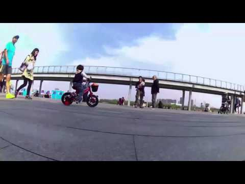Shanghai longboard space cruising dancing freestyle party