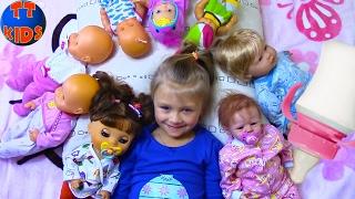 Playing Baby Born & Reborn Dolls Играем с Куклами Беби Бон укладываем спать Малышей Видео для детей(СУПЕР КОНКУРС - РАЗЫГРЫВАЕМ ПРИЗЫ КАЖДУЮ НЕДЕЛЮ! Переходи по ссылке - https://youtu.be/ReVX5TqJcDk. Смотрите новое видео..., 2017-02-26T08:42:30.000Z)