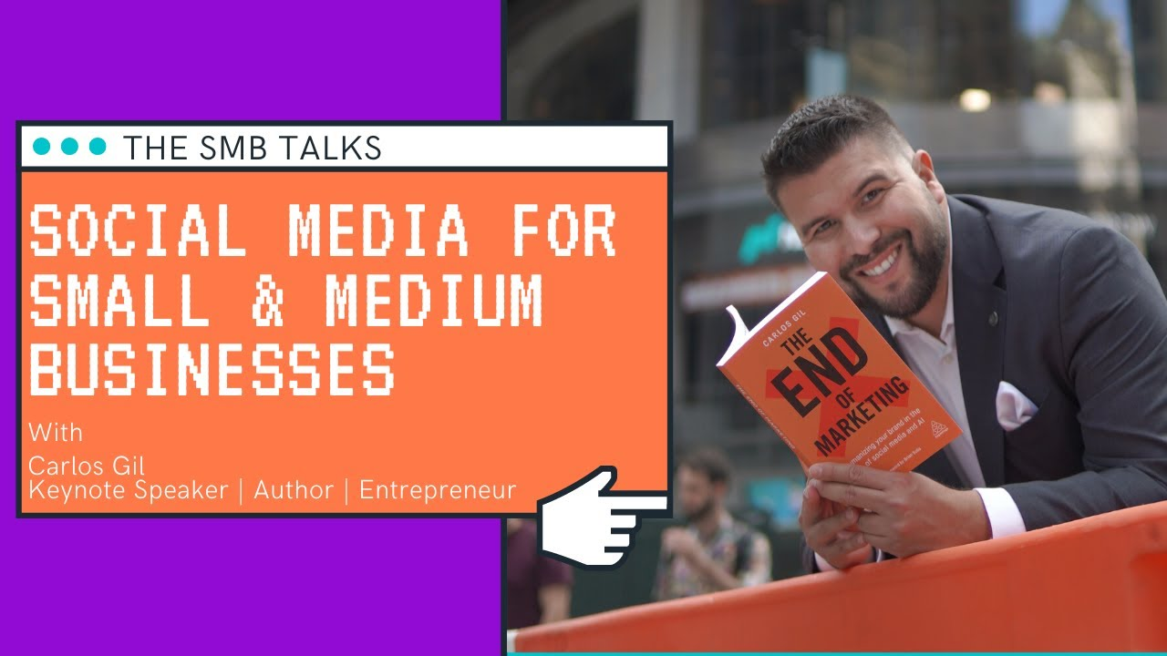 The SMB Talks Episode 14 featuring Carlos Gil - Keynote Speaker, Author & Entrepreneur