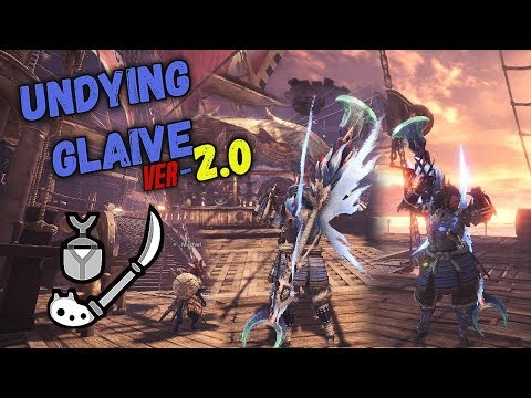 Monster Hunter World Insect Glaive Build | The Undying Glaive Ver-2.0