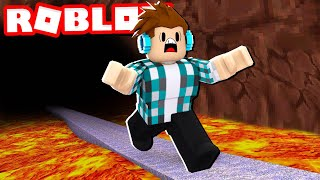 ROBLOX-RUN comme FAST AS POSSIBLE de la LAVA! (Lava Escape Roblox)