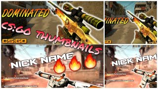 FREE CS:GO THUMBNAIL TEMPLATES | VEGAS PRO 15 | FREE DOWNLOAD