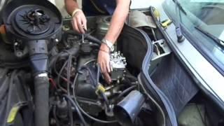 Adaptación de carburador de Toyota 4K a Renault 9 Super