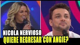 NICOLA PORCELLA QUIERE REGRESAR CON ANGIE ARIZAGA TRAS ENCUE...