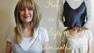 How to Style: Slip Dresses & Camisoles for Autumn | Harriet Pattison