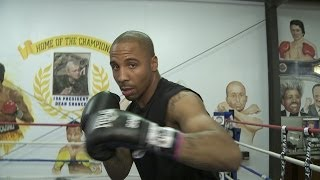 Andre Ward In Ring Demonstration