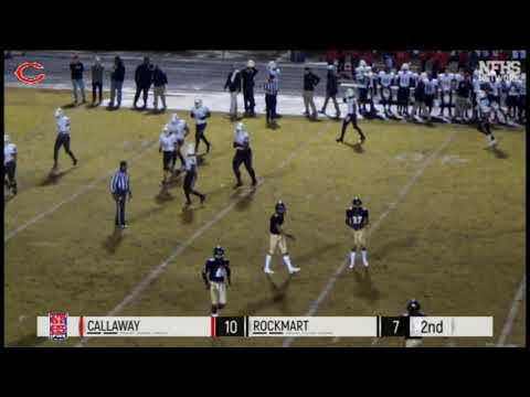 Callaway vs. Rockmart 11/30/18 L 28-22