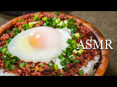 【ASMR Ver】 おうちでキャンプ飯 【コンビーフ丼編】Cooking camp food at home (Corned beef bowl) StayHome from YouTube · Duration:  10 minutes 18 seconds