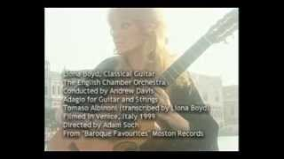 Liona Boyd - Adagio for Guitar and Strings by Tomaso Albinoni